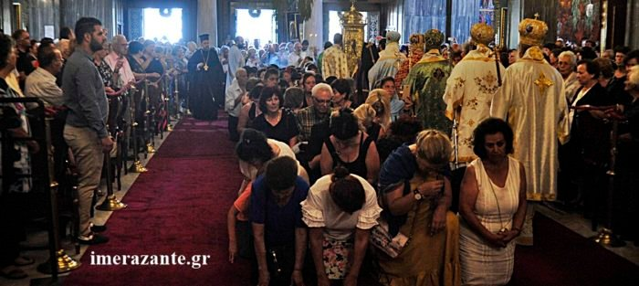 Ζάκυνθος: Τα Μπασίματα του Αγίου Διονυσίου - Ολοκληρώθηκαν οι εορτασμοί