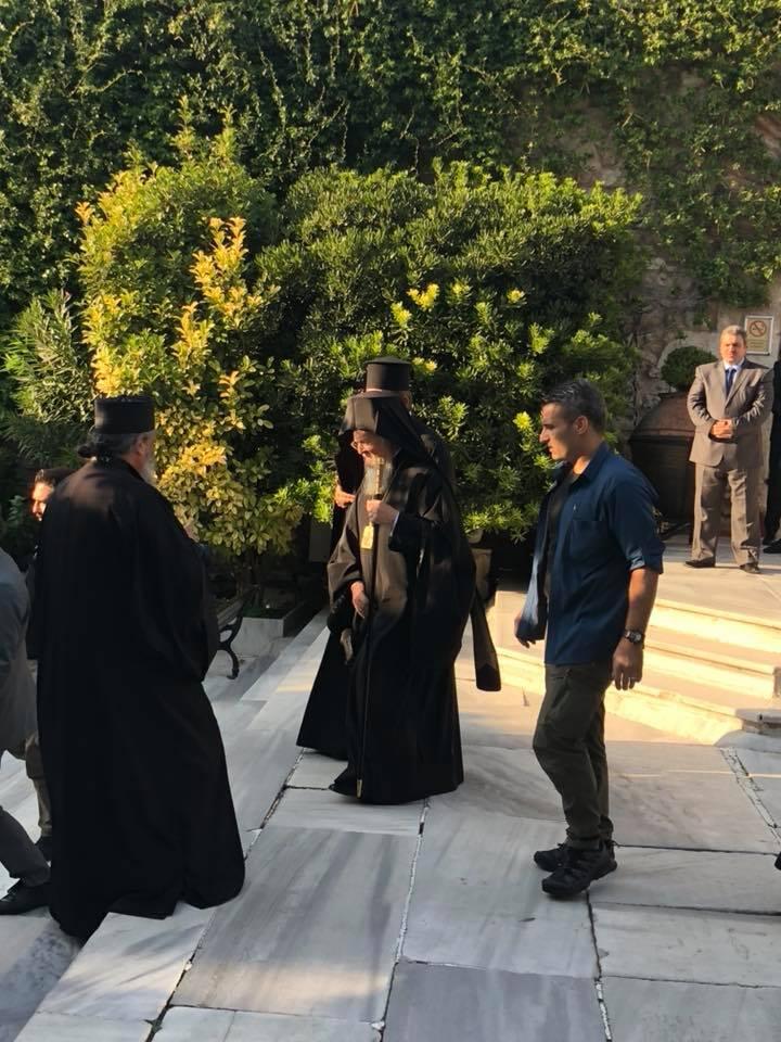 Αρχή της Ινδίκτου: Εσπερινός χοροστατούντος του Οικουμενικού Πατριάρχη