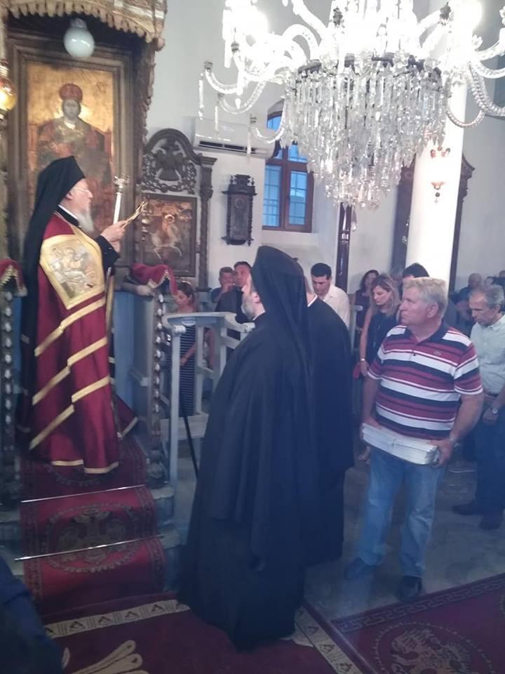 Κοίμηση της Θεοτόκου: Στην Ίμβρο με τον Οικουμενικό Πατριάρχη