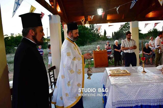 Μεταμόρφωση Σωτήρος: Πλήθος πιστών στα Λευκάκια Ναυπλίου