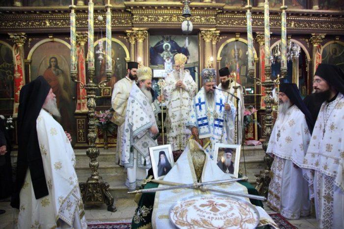 Μνημόσυνο Μητροπολιτών Λευκάδος Νικηφόρου και Κερκύρας Πολυκάρπου