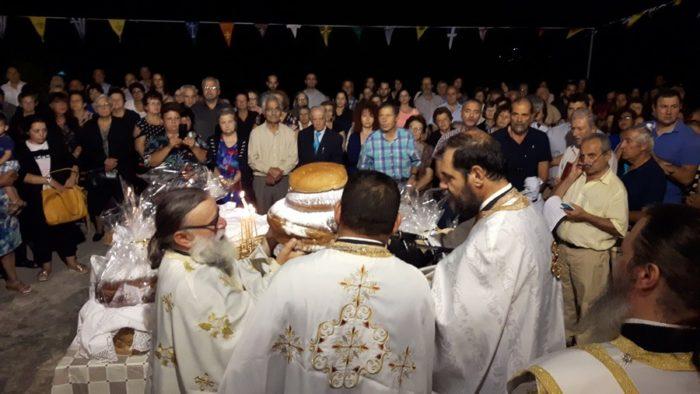 Λαμπρή Εορτή της Αγίας Σοφίας στην Ι.Μ. Καρυστίας