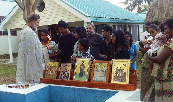 Επίσκεψη στην Ορθόδοξη Ιεραποστολή στα νησιά Φίτζι