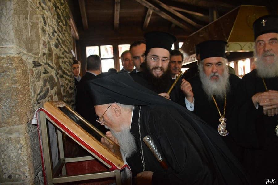 Ο Οικουμενικός Πατριάρχης στη Μητρόπολη Νεαπόλεως