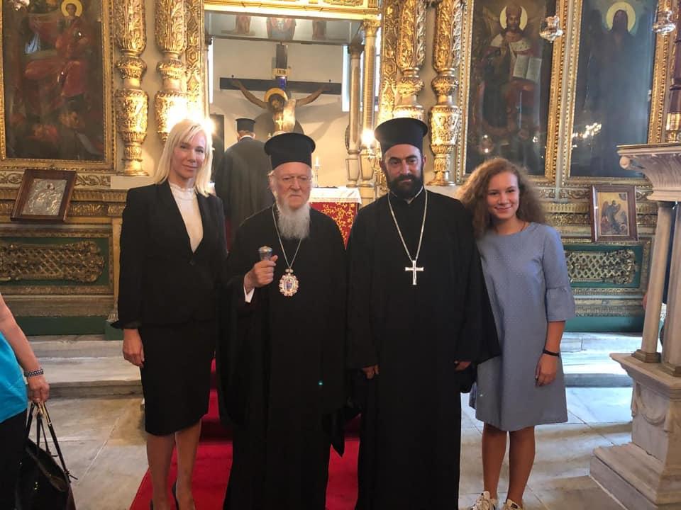 Ειδήσεις: Χειροθεσία Πρωτοπρεσβυτέρου από Οικουμενικό Πατριάρχη