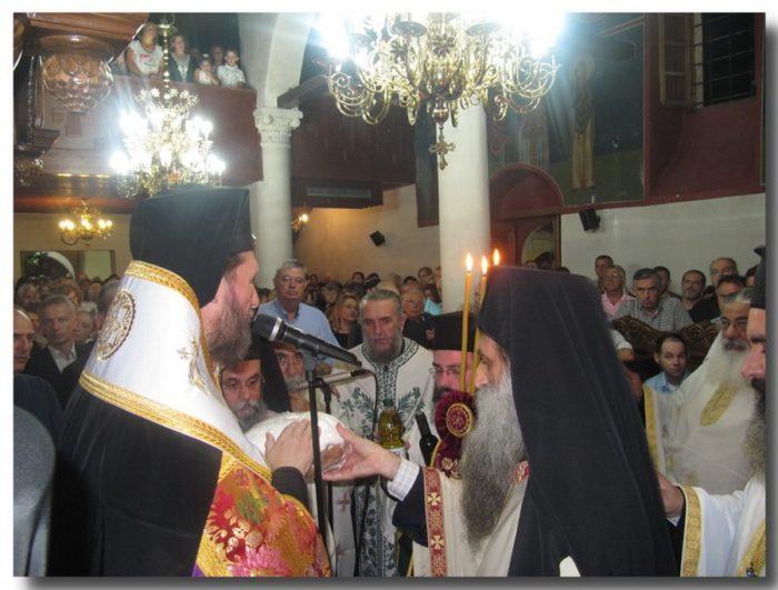 Λαμπρός εορτασμός του Πολιούχου της Φιλιππιάδας Αγίου Βησσαριώνος