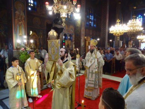 Η εορτή της Αγίας Ευφημίας στη Νέα Χαλκηδόνα