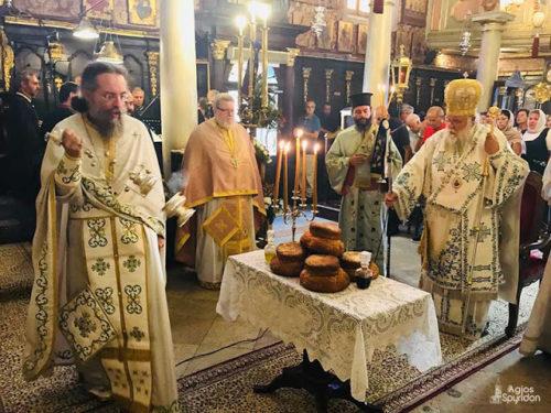 Το Γενέθλιο της Θεοτόκου στη Ι.Μ. Κερκύρας