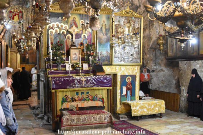 Ιεροσόλυμα: Λαμπρή Εορτή του Γενεθλίου της Θεοτόκου