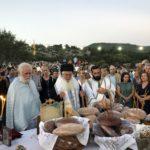 Εορτή Μεγαλομάρτυρος Αγίου Νικήτα - Θυρανοίξια Ναού στη Μητρόπολη Θηβών