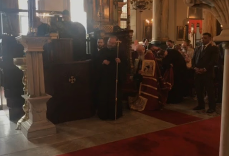 Ο Οικουμενικός Πατριάρχης στην Εκκλησία του Αγίου Φωκά στο Μεσάχωρο