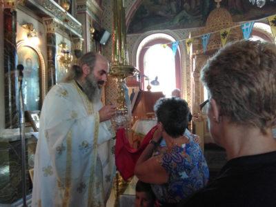 Χίος: Με λαμπρότητα τιμήθηκε η μνήμη του Αγίου Γεωργίου εκ Κρήνης Μικράς Ασίας