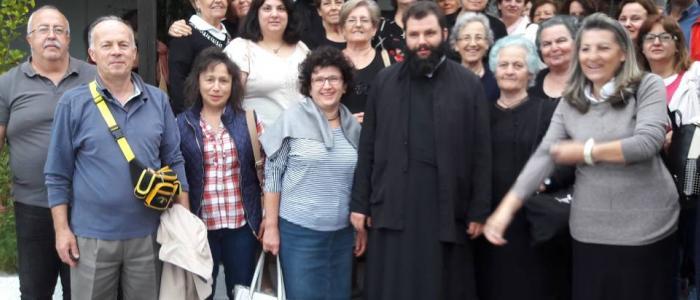 Η Ενορία της Αγίας Σοφίας Λαμίας πραγματοποίησε τον περίπλου του Αγίου Όρους