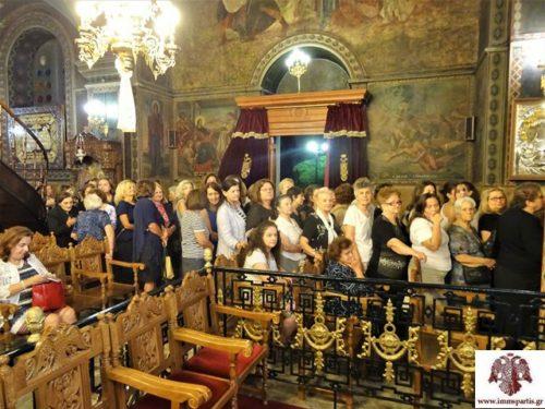 Αγίου Ευσταθίου: Με εκκλησιαστική μεγαλοπρέπεια τα ονομαστήρια του Μητροπολίτη Σπάρτης