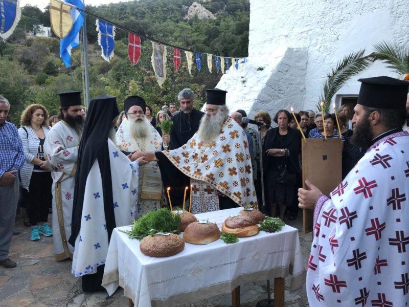 Άγιος Ευστάθιος: Λαμπρή Πανήγυρις στο Σελάκανο Ιεράπετρας