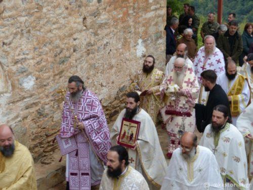 Εγκαίνια Ναού και πρώτη Θεία Λειτουργία μετά από 70 χρόνια