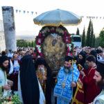 Τη θαυματουργή εικόνα της Παναγίας Γοργοϋπηκόου υποδέχθηκε η Μητρόπολη Λαγκαδά από το Άγιο Όρος