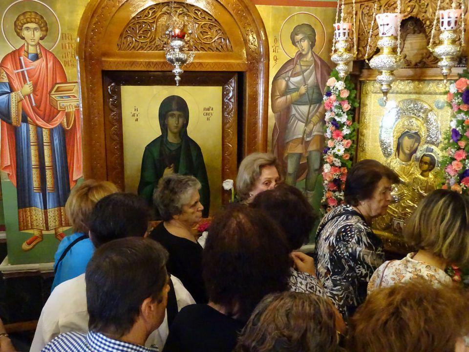 Γενέθλιο της Θεοτόκου: Εορτή Συνάξεως Παναγίας «Βηματάρισσας» στη Ν. Ιωνία