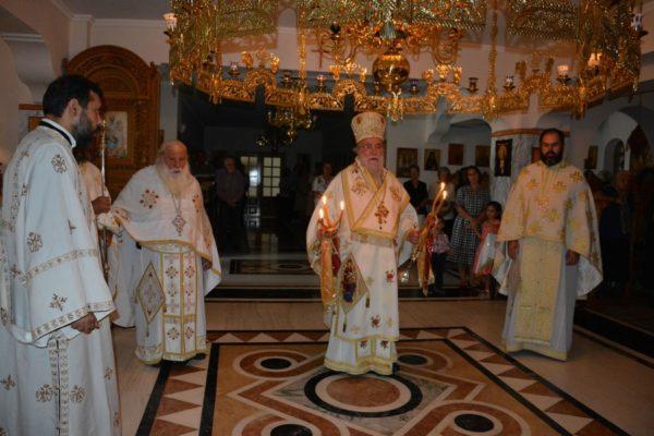 Γενέθλιο Θεοτόκου: Λαμπρή Εορτή στην Ι Μονή Αγ. Παντελεήμονος Χρυσοκάστρου