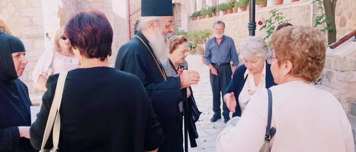130 Προσκυνητές από την Ιτέα στην Ιερά Μονή Παναγίας Δαμάστας