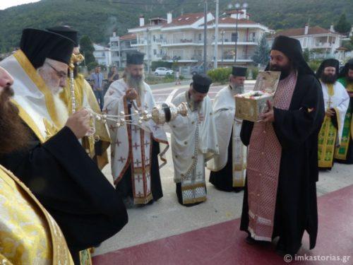 Στην Καστοριά η Τιμία Κάρα του Οσίου Νικάνορος του θαυματουργού