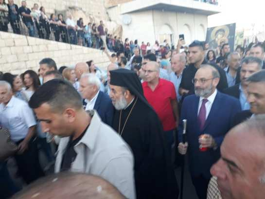 Εορτασμός του Γενέθλιου της Θεοτόκου στη Μονή της Saidnaya στη Συρία