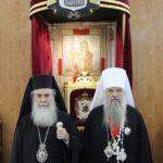 Συνάντηση του Πρωτοσυγκελλεύοντος του Πατριαρχείου Μόσχας με τον Προκαθήμενο της Ορθοδόξου Εκκλησίας Ιερουσολύμων