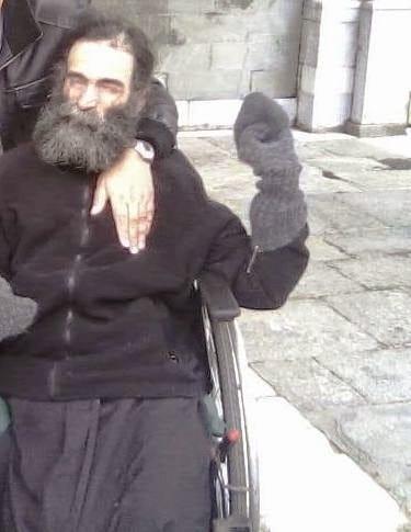 Άγιο Όρος: Ο ανάπηρος Μοναχός Ιώβ