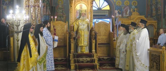 Χειροτονία Νέου Αμίσθου Κληρικού στη Μητρόπολη Φθιώτιδος