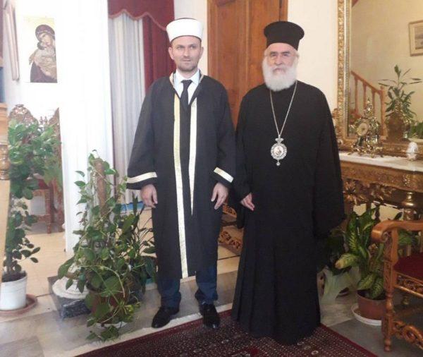 Τον Μουφτή κ. Μπιλάλ Καρά Χαλήλ συνάντησε ο Μητροπολίτης Ξάνθης