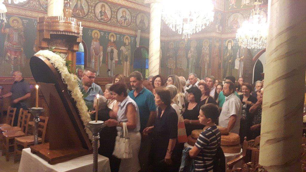 Εύβοια: Ο Καρυστίας Σεραφείμ στην Εορτή του Γενεσίου της Θεοτόκου στο Παρθένι Αλιβερίου