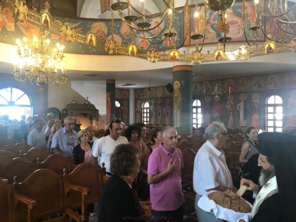 Οι εκτοπισμένοι της Πυργάς Μεσαορίας Αμμοχώστου εόρτασαν το εν Χώναις Θαύμα του Αρχαγγέλου Μιχαήλ