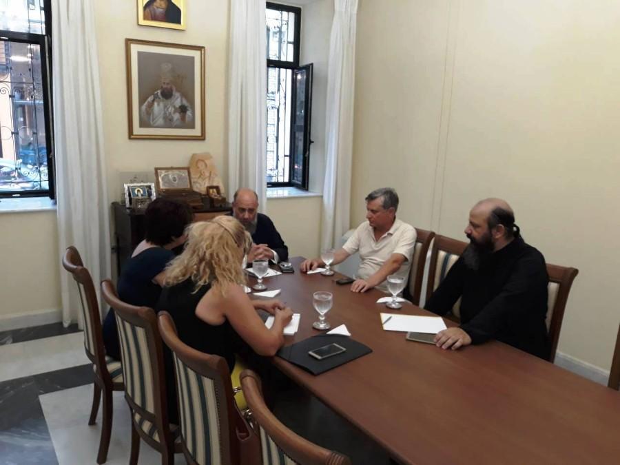 Μητρόπολη Θεσσαλιώτιδος: Συνάντηση για την ανάπτυξη του Προσκυνηματικού και Περιηγητικού Τουρισμού