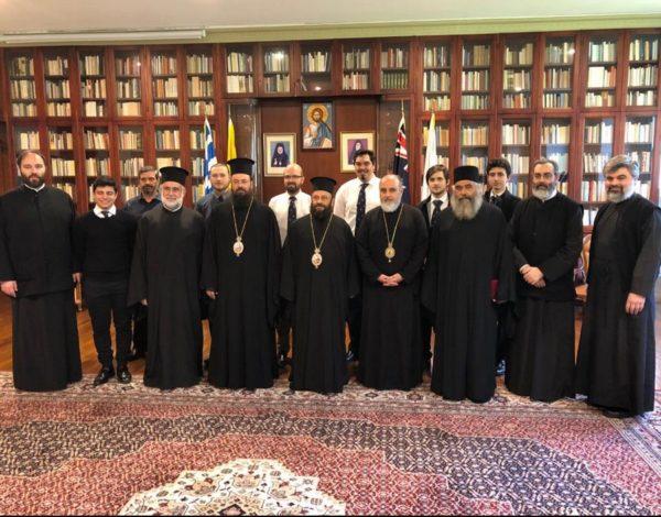 Σίδνεϊ: Τον Αρχιεπίσκοπο Αυστραλίας επισκέφθηκε ο Μητροπολίτης Ν. Ζηλανδίας
