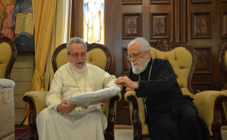 Επίσκεψη Μητροπολίτη Τύρου και Σιδώνος στη Μητρόπολη Κωνσταντίας