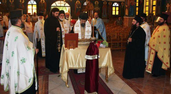 Στη Μητρόπολη Καρπενησίου το Ιερό Λείψανο του Οσ. Ανδρέα του Ερημίτη