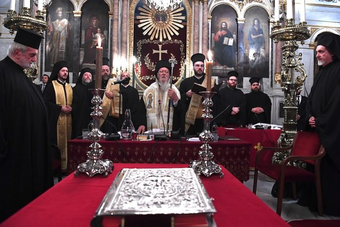 Βαρθολομαίος: Αγωνιζόμεθα διά την ενότητα και ευστάθειαν της Ορθοδοξίας