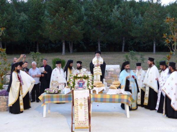 Η εορτή της Καταθέσεως της Τιμίας Ζώνης της Παναγίας στην Μονή Παναγίας Φανερωμένης