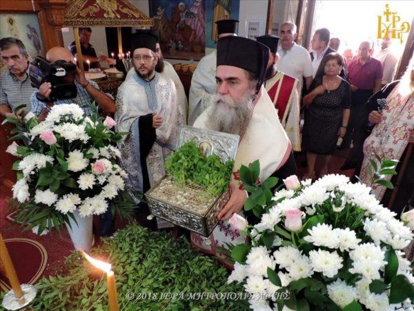 Τα Λείψανα των Αγίων Ραφαήλ, Νικολάου και Ειρήνης στην I.M. Άρτης