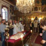 Άφατη θλίψη στην Εξόδιο ακολουθία του μακαριστού ιερέως Δημητρίου Παπανικολάου