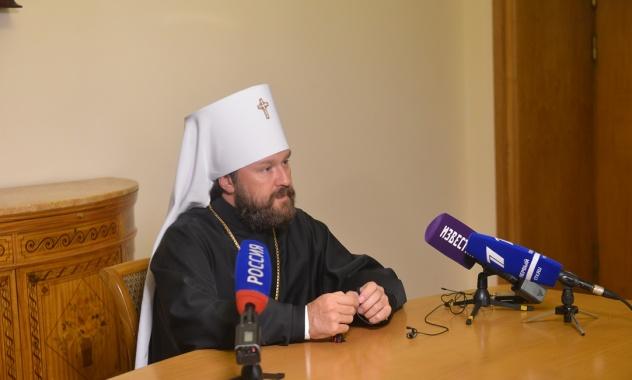 Ο Μητροπολίτης Ιλαρίωνας για τη συνάντηση Βαρθολομαίου - Κύριλλου