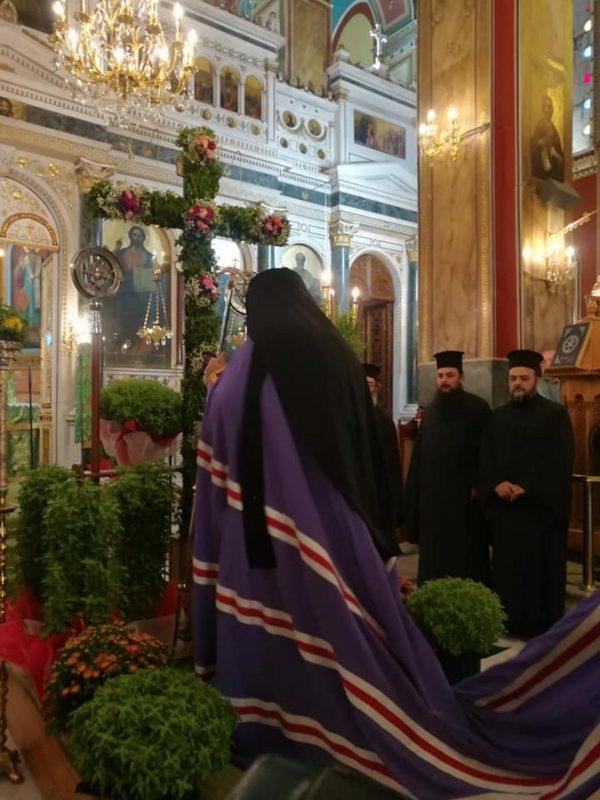 Οι Χαιρετισμοί του Τιμίου Σταυρού στην Τρίπολη