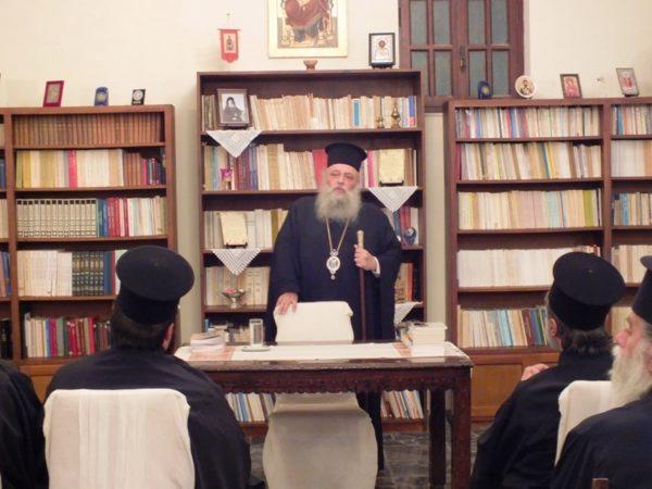 Σύναξη Ιερέων και Κατηχητών στη Μητρόπολη Παροναξίας