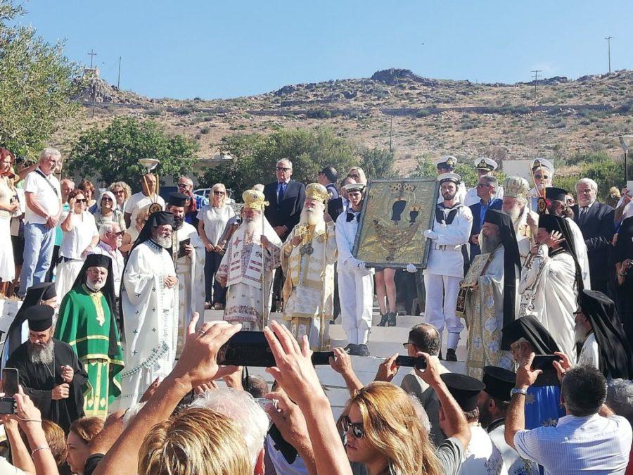 Παναγία Μυρτιδιώτισσα - Κύθηρα ΤΩΡΑ: Δέος και συγκίνηση στους εορτασμούς
