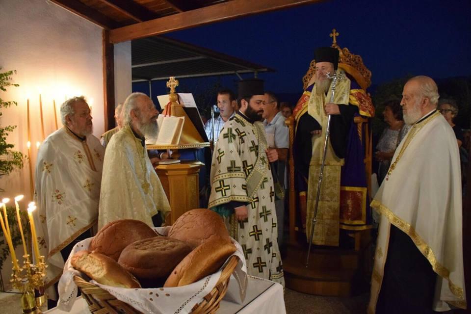 Μητρόπολη Κυδωνίας: Πανηγυρικός εορτασμός στην Παναγία την Μυρτιδιώτισσα