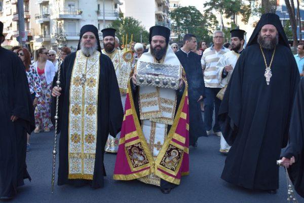 Υποδοχή Λειψάνου Αγίας Ελπίδος στη Μητρόπολη Μαρωνείας