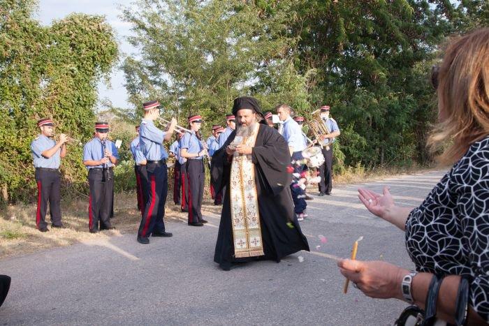 Γενέθλιο Θεοτόκου: Λαμπρός εορτασμός στη Γραμμένη Δράμας