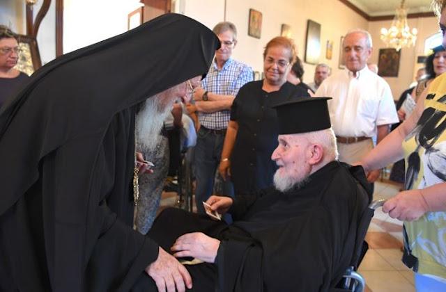 Η συγκινητική ομιλία του Οικουμενικού Πατριάρχη για τον Μακαριστό Μητροπολίτη Θεοδωρουπόλεως