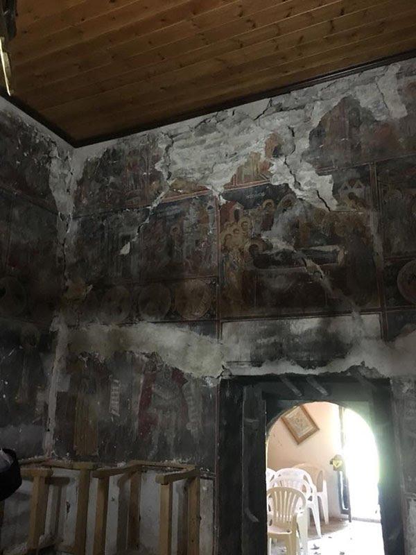 Σεισμός ΤΩΡΑ: Σοβαρές ζημιές σε Μονή Κοιμήσεως Θεοτόκου, Μονή Σπηλιάς και Ναούς