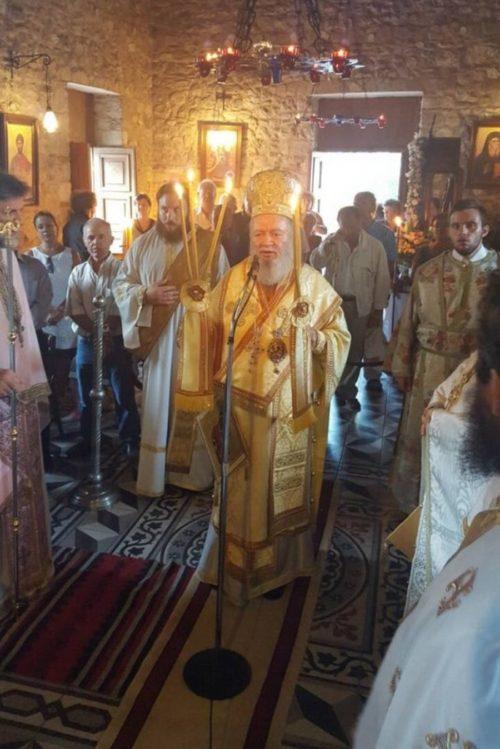 Γενέθλιο Θεοτόκου: Πλήθος πιστών στη Βόρειο Εύβοια